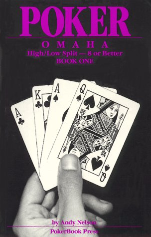 9780945983101: Poker Omaha Hi-Low Split Eight or Better, Book One