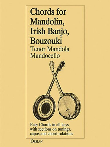 9780946005475: Chords for Mandolin, Irish Banjo, Bouzouki, Tenor Mandola, Mandocello
