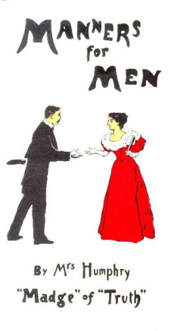 Manners for Men: Mrs Humphry