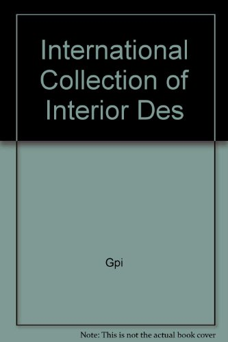 9780946027583: International Collection of Interior Design
