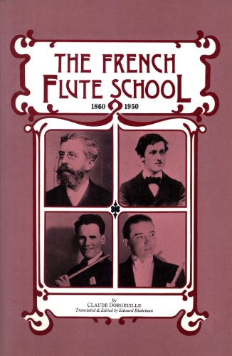 9780946113026: French Flute School, 1860-1950