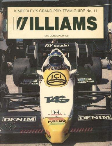 9780946132133: Grand Prix Team Guide: Williams, 1982-84 No. 11
