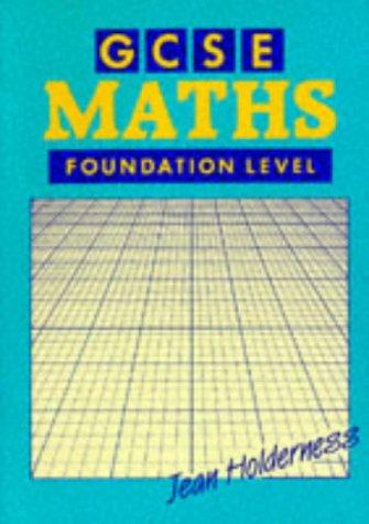 GCSE Maths: Holderness, Jean
