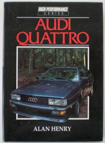 9780946313556: Audi Quattro