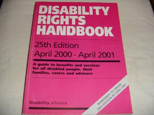 9780946336937: Disability Rights Handbook