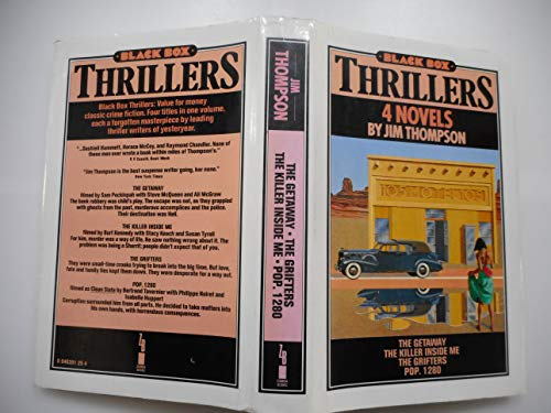 Black Box Thrillers: 4 Novels (The Getaway, Killer Inside Me, Grifters, and Pop. 1280): Thompson, ...