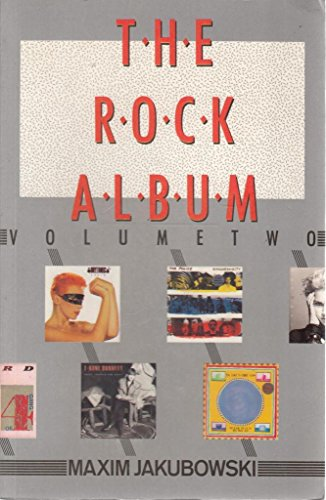 The Rock Album (0946391262) by Jakubowski, Maxim