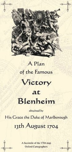 9780946405077: Plan of the Famous Victory at Blenheim, 1704