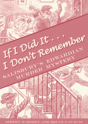 If I Did it; I Don't Remember: Moody, Jeremy B.;