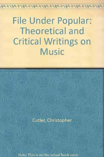 File under Popular: theoretical and critical writings on music