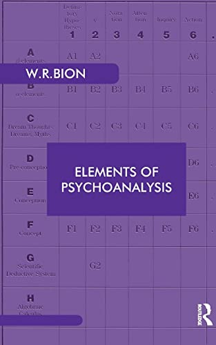 Elements of Psychoanalysis (Maresfield Library): Bion, Wilfred R.