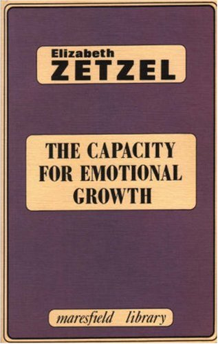 9780946439386: The Capacity for Emotional Growth (Maresfield Library)