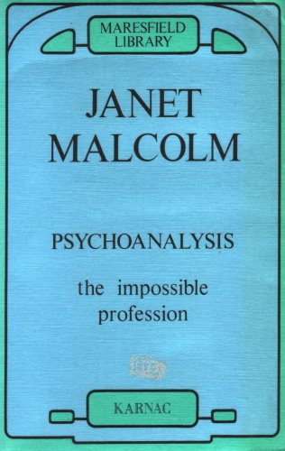 9780946439416: Psychoanalysis: The Impossible Profession (Maresfield Library)