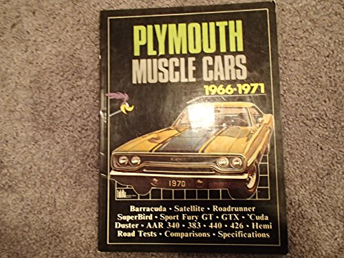 9780946489053: Plymouth Muscle Cars 1966-1971 (Brooklands Road Tests)
