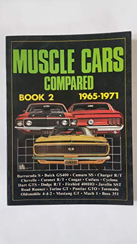 9780946489077: Muscle Cars Compared Book 2: 1965-1971
