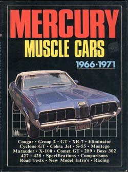 9780946489459: Mercury Muscle, 1966-71 (Brooklands Books Road Tests Series)
