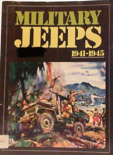 9780946489619: Military Jeeps: 1941-45 (Brookland Series)