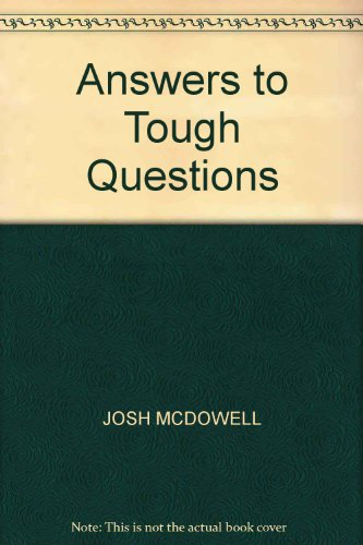 9780946515516: Answers to Tough Questions