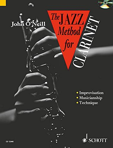 9780946535217: Jazz Method for Clarinet CD John O'Neill (Tutor Book & CD)