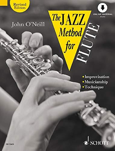 9780946535248: The Jazz Method for Flute (Tutor Book & CD)