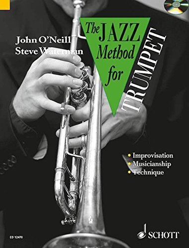 9780946535255: Jazz Method for Trumpet CD John O'Neill, Steve Waterman (Tutor Book & CD)