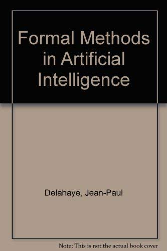 9780946536184: Formal Methods in Artificial Intelligence