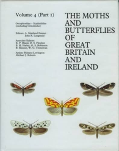 9780946589661: The Moths and Butterflies of Great Britain and Ireland: Oecophoridae-scythrididae (Excluding Gelechiidae)
