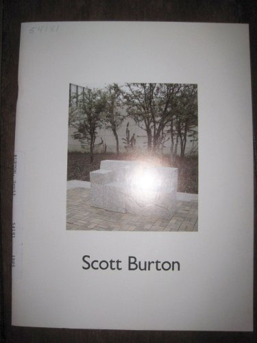 9780946590322: Scott Burton