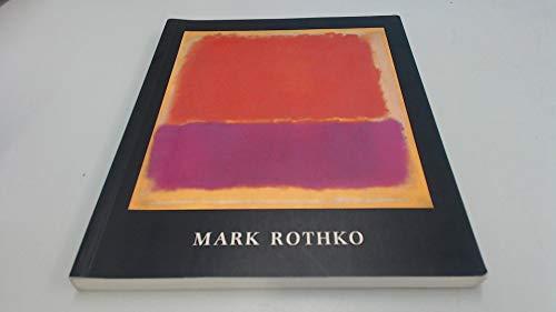 9780946590629: Rothko, Mark, 1903-70