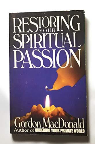 9780946616329: Restoring Your Spiritual Passion