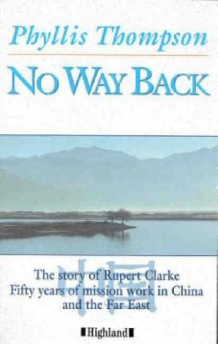 No Way Back (0946616884) by Thompson, Phyllis