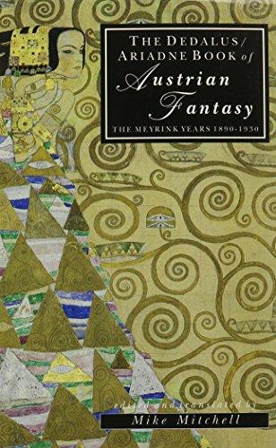 9780946626939: The Dedalus Book of Austrian Fantasy: The Meyrink Years, 1890-1930 (European Literary Fantasy Anthologies)