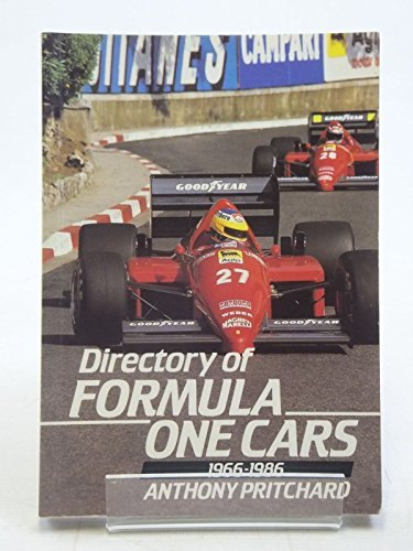 9780946627028: Directory of Formula One Cars, 1966-86