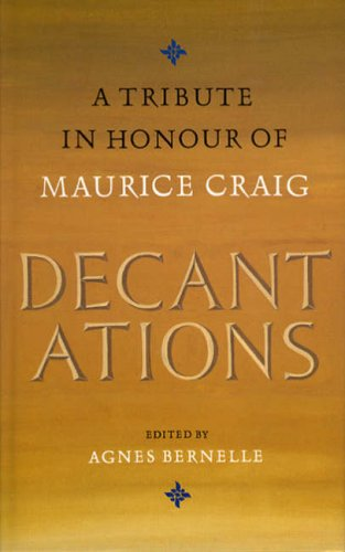 9780946640645: Decantations in Honour of Maurice Craig