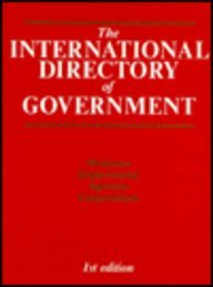 INTL DIR OF GOVERNMENT 1990 (International Directory of Government): 1990 1 Ed