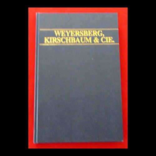 9780946696260: Weyersberg Kirschbaum & Cie., Solingen: Catalogue of 1892