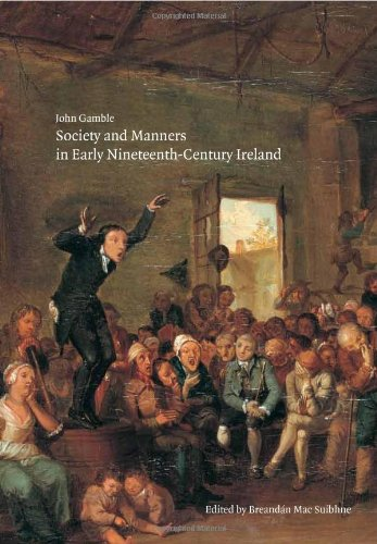 9780946755431: Society and Manners in Early Nineteenth Century Ireland (Field Day Editions)
