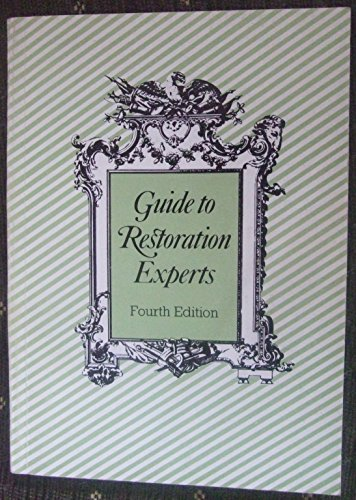 Guide to Restoration Experts: Anon