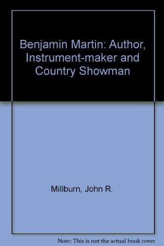 9780946836253: Benjamin Martin: Suppt: Author, Instrument-maker and