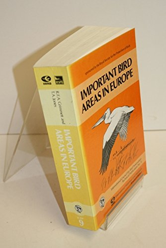 IMPORTANT BIRD AREAS IN EUROPE.: Grimmnett,R. F. A./ Jones, T. A.
