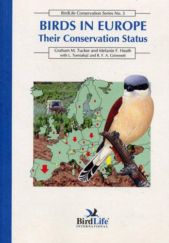 9780946888290: Birds in Europe: Their Conservation Status (Birdlife Conservation)