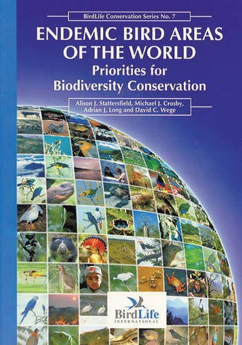 9780946888337: Endemic Bird Areas of the World: Priorities for Conservation