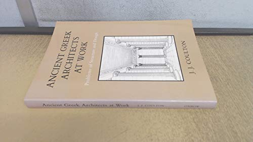 9780946897148: Ancient Greek Architects at Work