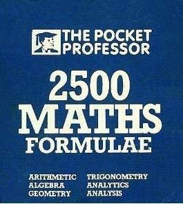 9780946913039: 2500 Math Formulae (Pocket Professor)