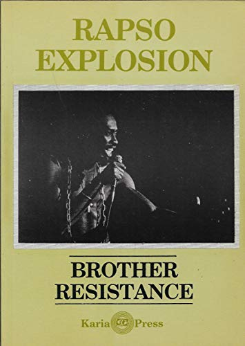 9780946918348: Rapso Explosion: Brother Resistance (Poetry)
