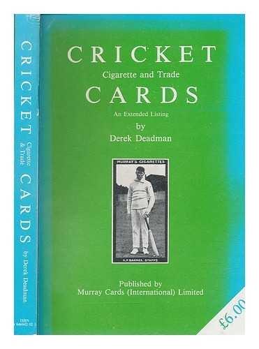 9780946942022: Cricket Cigarette and Trade Cards