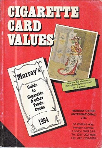 Cigarette Card Values - Guide To Cigarette: Murray Cards