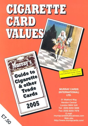 Cigarette Card Values - Guide To Cigarette: Murray Cards