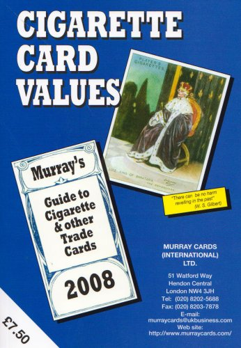 9780946942299: Cigarette Card Values 2008: Murrays Guide to Cigarette and Other Trade Cards