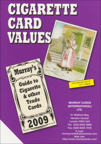 Cigarette Card Values 2009 (Price Catalogue): Murray Cards International